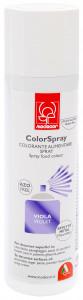 Lebensmittel-Sprühfarbe, Metalleffekt, violett, ideal für dunkle Oberflächen, Inhalt 250ml, 1 Stück