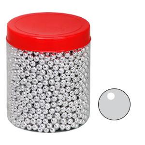 Silberperlen, 6mm, 1kg