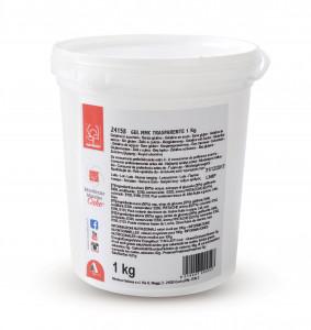 Transparentes Gel, ideal zum Färben mit Colorgel, perfekt für Halbgefrorenes und Sahnetorten, 1kg, 1 Stück