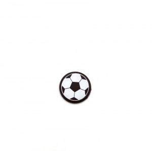 "Schoko-Aufleger ""Fußball"", dunkle Schokolade, 30mm, 595 Stück"