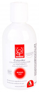Lebensmittelfarbe für Airbrush, rot, 190ml, 1 Stück