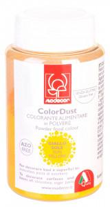Pulverfarbe, gelb, 25g, 1 Stück