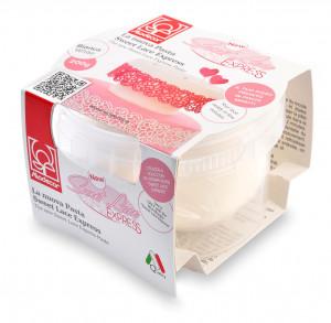 Fertigpaste Sweet Lace Express (essbarer Spitzenrand), 200g, 1 Stück