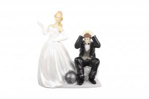 Brautpaar, Mann verhaftet, Polystone