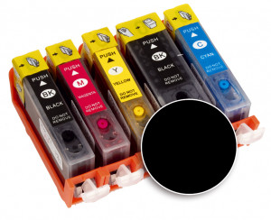 Kartusche schwarz für Drucker A4