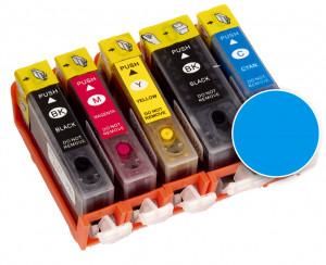 Kartusche blau für Drucker A4