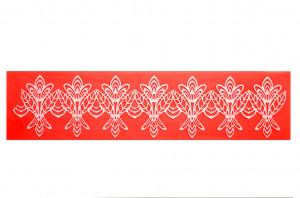 Sweet Lace Express Silikonform Gargoyle für essbare Spitze, 40x9,5cm, 1 Stück,