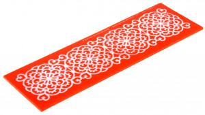 Sweet Lace Express Silikonform Bali für essbare Spitze, 16,5x5cm, 1 Stück