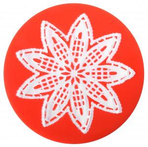 Sweet Lace Express Silikonform Budapest für essbare Spitze, 8cm, 1 Stück