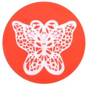 Sweet Lace Express Silikonform Schmetterling für essbare Spitze, 8cm, 1 Stück