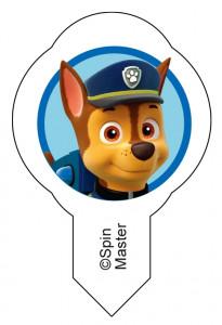 Waffel-Einstecker Paw Patrol, 6-fach sortiert, ideal für Eisbecher und Stückchen, 600 Stück