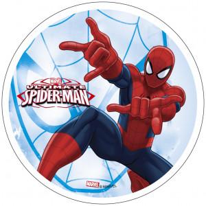 Waffel-Aufleger Spiderman, 4-fach sortiert, 21cm, 12 Stück