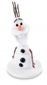 Deko-Olaf, Kunststoff, 8cm, 3 Stück