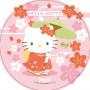 Waffel-Aufleger Hello Kitty, 4-fach sortiert, 21cm, 12 Stück