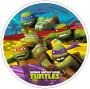 Waffel-Aufleger Turtles, 4-fach sortiert, 21cm, 12 Stück