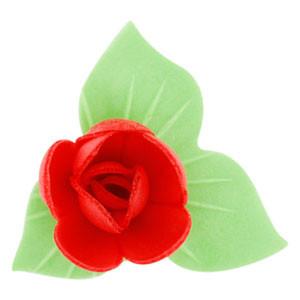 Waffel-Blumen, rot, 53mm, 180 Stück