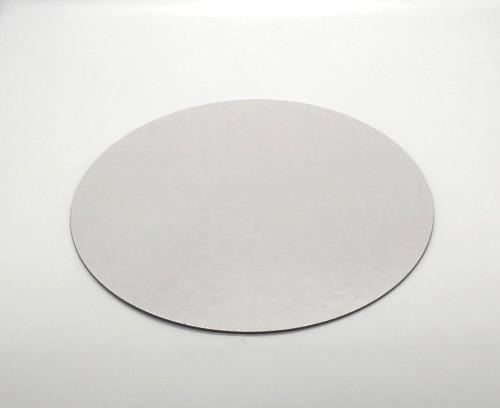 Tortenteller, weiss, rund 40cm, Stärke 0,15cm, 20 Stück, für Kontakt mit Lebensmitteln