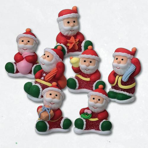 Geleé/Zucker-Weihnachtsmänner, 7-fach sortiert