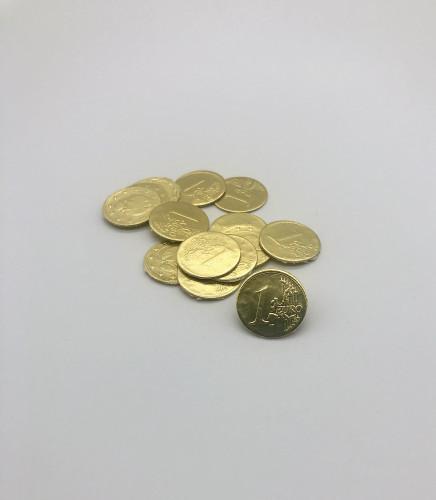 Papp-Euro, 21mm, 100 Stück