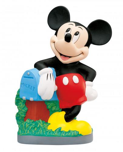 Mickey Mouse Spardose mit Drehverschluss, Kunststoff, ideal für Motivtorten