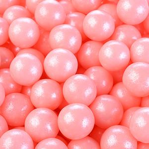 Zucker-Perlen, rosa, glutenfrei, 6mm, 1kg