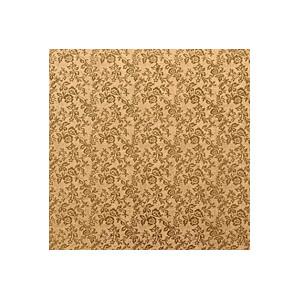 Tortenteller, Karton mit Goldfolie beschichtet, 30x30cm, 12mm stark, 5 Stück