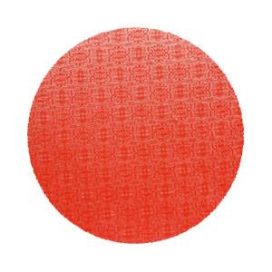Tortenteller, Karton mit roter Folie beschichtet, 35cm, 12mm stark, 5 Stück