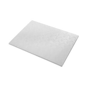 Tortenteller, Karton mit Silberfolie beschichtet, 50x40cm