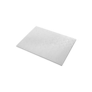 Tortenteller, Karton mit Silberfolie beschichtet, 40x30cm, 12mm stark, 5 Stück