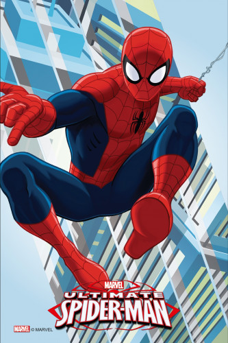 Waffel-Aufleger Spiderman, 4-fach sortiert, 30x20cm, 12 Stück