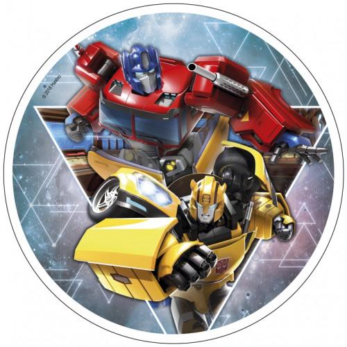 Waffel-Aufleger Transformers, 4-fach sortiert, 21cm, 12 Stück