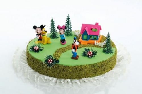 Tortendekoration Mickey Mouse, 10-teilig