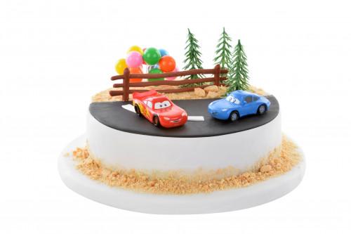 Tortendekoration Cars, 7-teilig