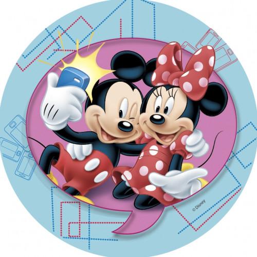 Waffel-Aufleger Disney, 4-fach sortiert, 21cm, 12 Stück