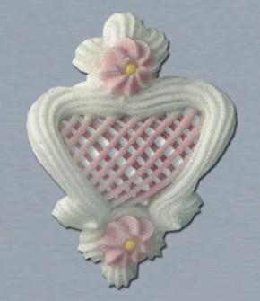 Filigrane, rosa, mittelgroß