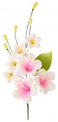 Tragant-Blumenbouquet, 2-fach sortiert, 17cm, 8 Stück