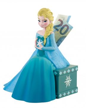 Eiskönigin Elsa Spardose mit Drehverschluss, Kunststoff, ideal für Motivtorten