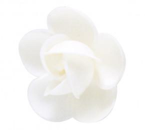 Waffel-Rose, weiss, 50mm, 100 Stück