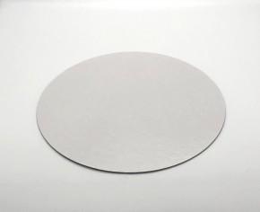 Tortenteller, weiss, rund 24cm, Stärke 0,15cm, 20 Stück, für Kontakt mit Lebensmitteln