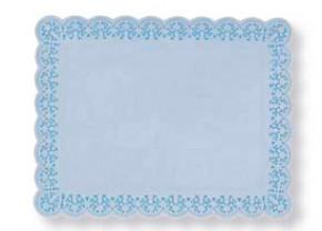 Papier-Spitzen, weiss, rechteckig