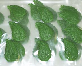 Marzipan-Blätter, groß,