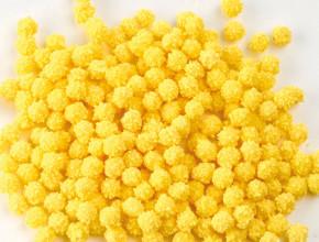 Zucker-Mimosen gelb, Streudekor, 6-8mm, 750gr