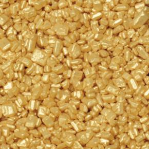 Zuckerkristalle, gold, 500g, 1 Box