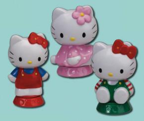 Hello-Kitty Figuren, Kunststoff, 2-fach sortiert