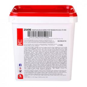 POP Fondant, rot, modellierbare Einschlagmasse, 5kg, 1 Stück