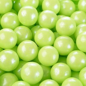 Zucker-Perlen, hellgrün, glutenfrei, 6mm, 1kg