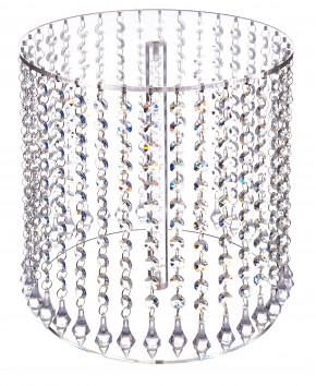 Exclusiver Tortenständer mit 1 Platte a 30cm, Kristall-Dekor, Acryl, zerlegt, 30x30cm, 1 Stück