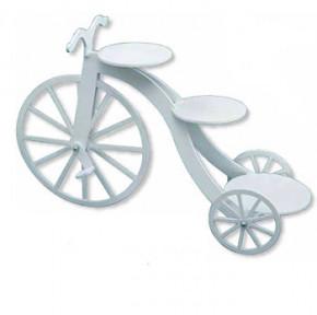 Fahrrad-Etagere mit 3 Platten aus langlebigem Kunststoff
