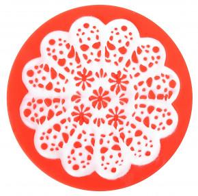 Sweet Lace Express Silikonform Granada für essbare Spitze, 8cm, 1 Stück