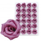 Marzipan-Rosen, mittel, violett